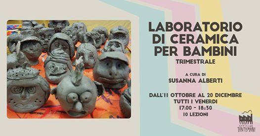 Laboratorio di Ceramica per Bambini (trimestrale)