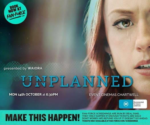 Unplanned - Event Cinemas Chartwell