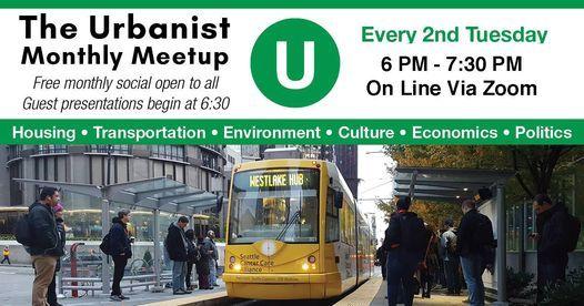 The Urbanist Meetup: WSDOT Secretary Roger Millar, 9 March | Online Event | AllEvents.in