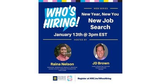 Who's Hiring! Web Series For Trans Job-seekers, 10 February | Online Event | AllEvents.in
