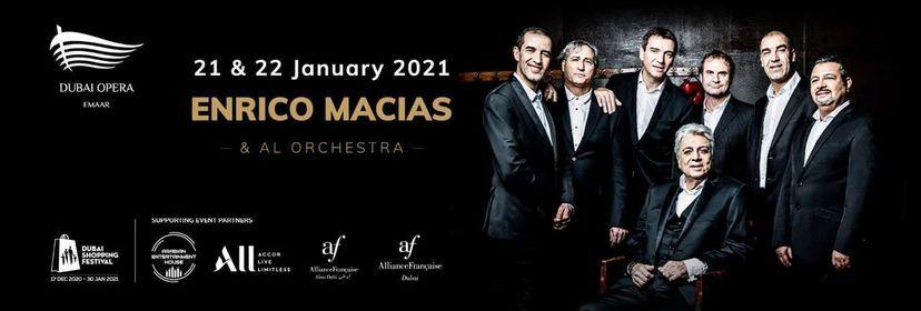 Enrico Macias, 21 January | Event in Dubai | AllEvents.in