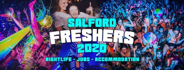 Salford Freshers Week Wristband 2020, 13 September | Event in Manchester | AllEvents.in