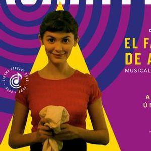 Autocinema Concert El Fabuloso Destino De Amlie Poulain a Piano y Acorden