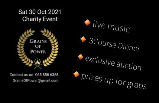 Dinner Dance Charity Event - LIVE MUSIC & EXCLUSIVE AUCTION, 30 October | Event in Johannesburg | AllEvents.in