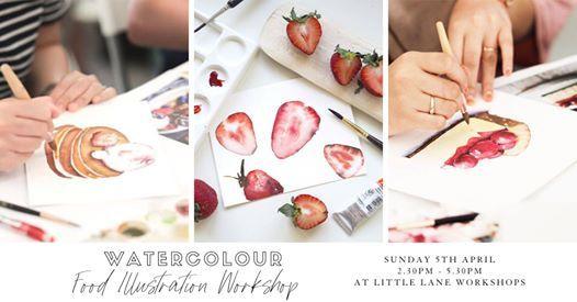 Watercolour Food Illustration Workshop