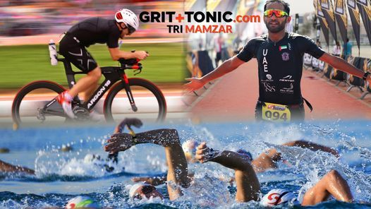 GRIT+TONIC.com Triathlon: Mamzar, Race 2, 19 March | Event in Dubai | AllEvents.in