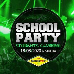 School Party  Students Clubbing