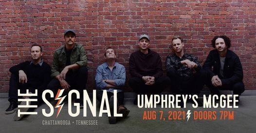 New Date Umphreys McGee at The Signal