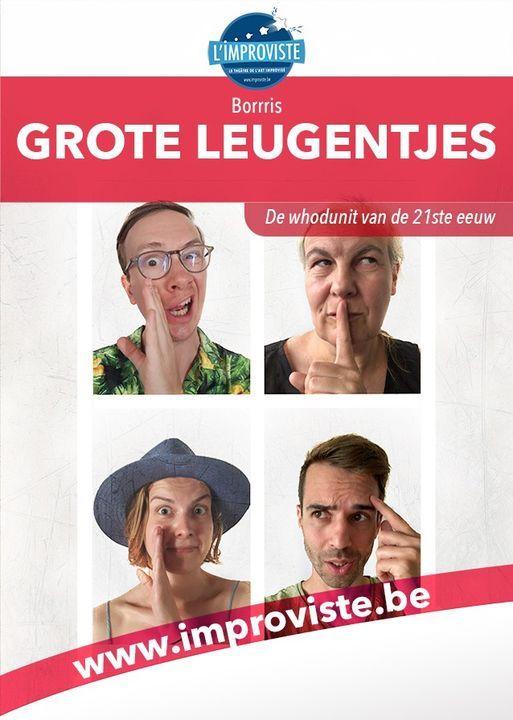 Grote leugentjes, 28 April   Event in Brussels   AllEvents.in