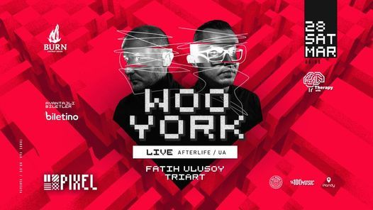 Burn Energy Drink Presents : Woo York [Live] (Afterlife,UA), 3 July   Event in Ankara   AllEvents.in