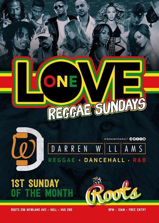 One Love Reggae Sundays