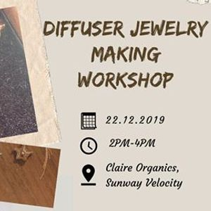 Diffuser Jewelry Making Workshop