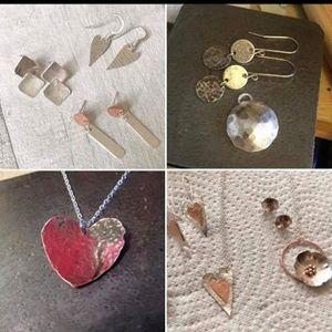 Necklace & Earring Set Silversmithing Workshop