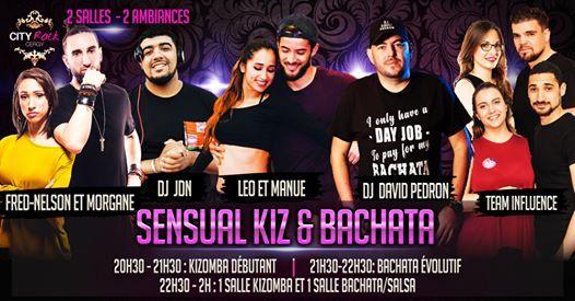 Sensual Kiz & Bachata - 2 salles 2 ambiances - Spciale Vacances