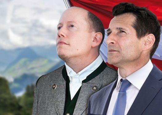 Michael Nikbakhsh & Klaus Oppitz WÄHLT UNS!, 4 February   Event in Salzburg   AllEvents.in