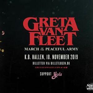 Greta Van Fleet (US) - K.B. Hallen