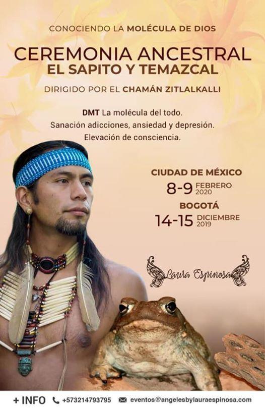 Ceremonia CDMX Sapito Temazcal y Pipa Sagrada