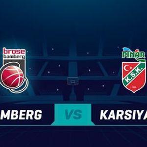Brose Bamberg v Pinar Karsiyaka