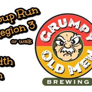 Group Run at Grumpy Old Men Brewing for Tour of the Breweries