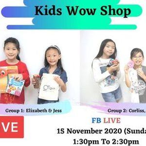 Kids Wow Shop - FB Live ( Episode 2 )