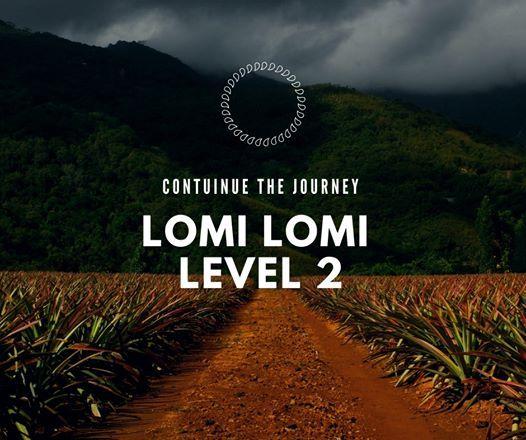 Hawaiian lomi lomi massage level 2 workshop