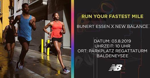 Run Your Fastet Mile at Bunert Lauftreff am B See, Parkplatz