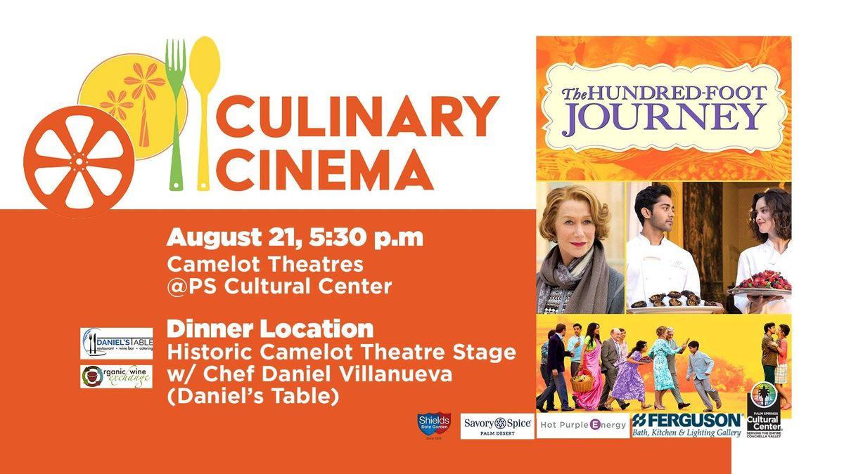 Culinary Cinema THE HUNDRED FOOT JOURNEY w Chef Daniel Villanueva
