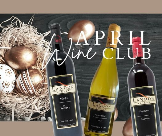 April Wine Club Pickup Party, 24 April | Event in Grapevine | AllEvents.in