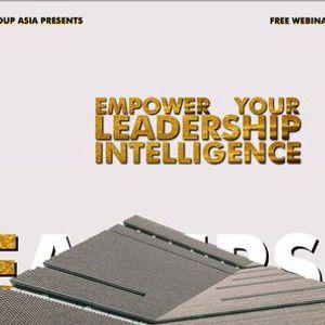 Webinar (Free) - Empower Your Leadership Intelligence