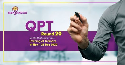 QPT - Qualified Professional Trainer, 11 November | Event in Cairo | AllEvents.in