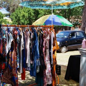 The Thrift fest at The Earth Fair Market
