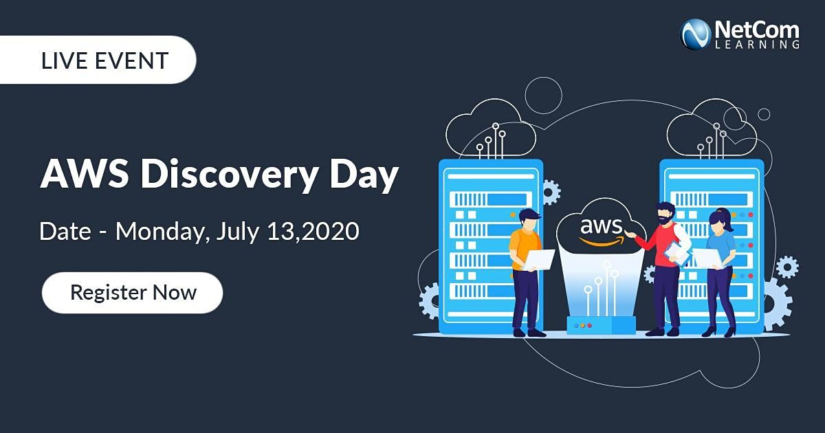 LIVE Virtual Event - AWS DISCOVERY DAY