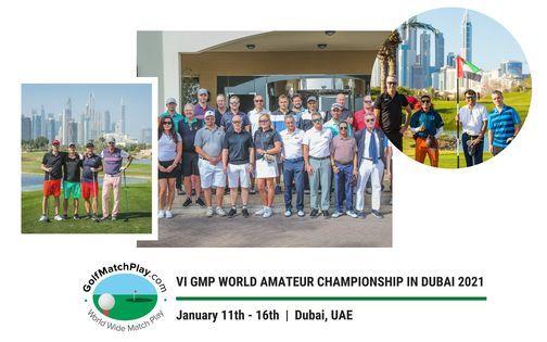 VI GMP World Amateur Championship in Dubai 2021, 11 January | Event in Dubai | AllEvents.in