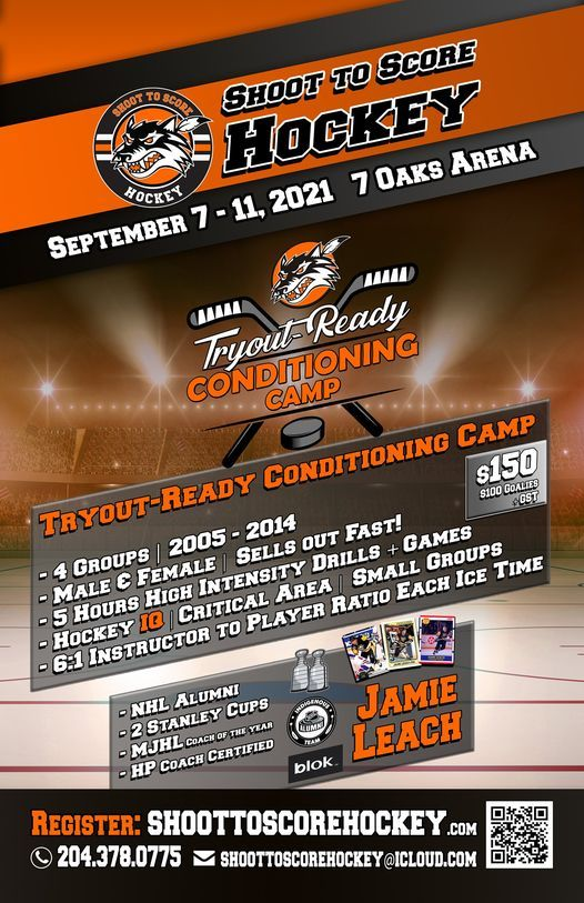 Try-Out Ready Conditioning Camp, 7 September   Event in Winnipeg   AllEvents.in