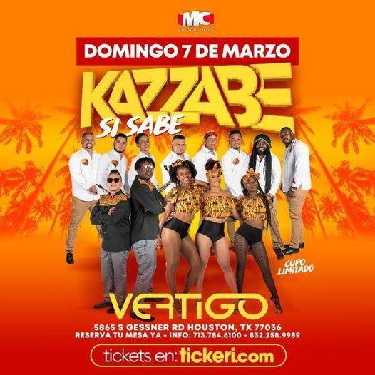 Kazzabe Si Sabe en Vivo en Houston!, 7 March | Event in Houston | AllEvents.in