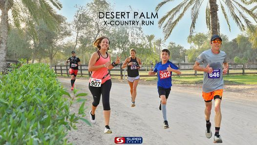 Desert Palm X-Country Run: 15,10,5,3k Race 1, 1 October | Event in Dubai | AllEvents.in