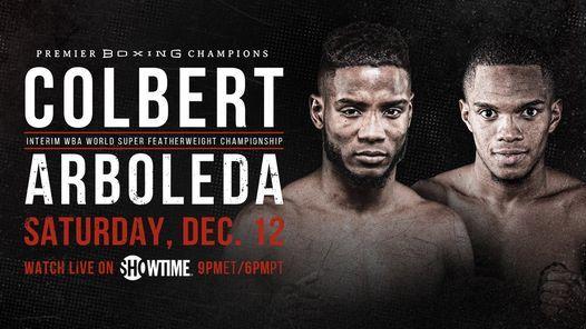 Watch Colbert vs. Arboleda 12/12/20 – 12 December 2020