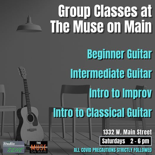 Guitar Lessons - Beginner to Advanced with Studio Zene | Event in Fort Wayne | AllEvents.in