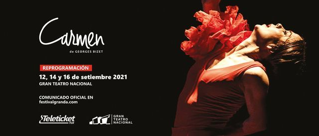 Bizet: Carmen, 13.º Festival Granda, 12 September | Event in San Isidro | AllEvents.in