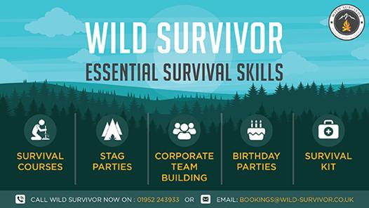 1 Day Woodland Survival & Bushcraft Experience Shropshire