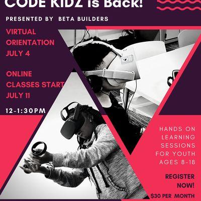 Code Kidz 12 & Up