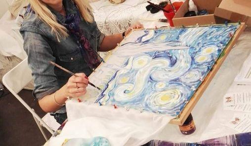 Notte stellata di Van Gogh. Interpretazioni sulla seta, 8 May | Event in Verona | AllEvents.in