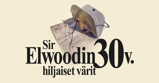 Sir Elwoodin hiljaiset värit @Laurentius-sali, Lohja, Laurentius-sali,  Lohja, December 5 2021   AllEvents.in