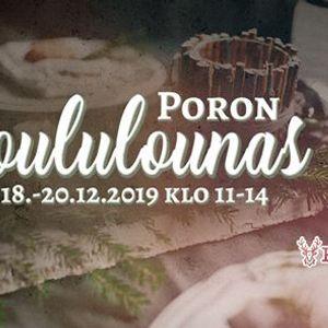 Poron Joululounas ke18.12- 20.12