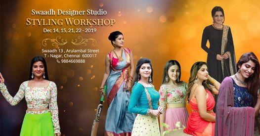 Styling Workshop Swaadh By Swapnaa Reddy Chennai 14 December 2019