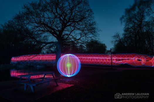 Light painting in Cassiobury Park, Watford - May, 22 May | Event in Watford | AllEvents.in