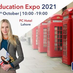 SI-UK Pakistan Education Expo - Lahore October 28th 2021