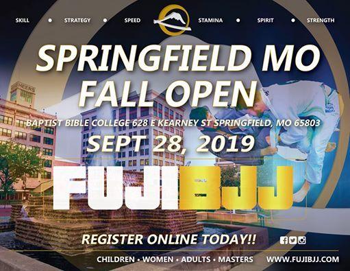 FUJI BJJ Springfield, MO Fall Open at Baptist Bible College