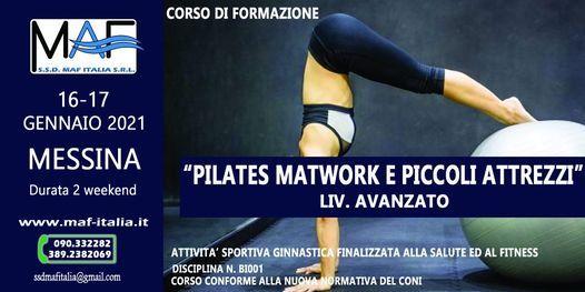 Corso di Formazione Pilates Matwork - Liv. Avanzato, 16 January   Event in Messina   AllEvents.in