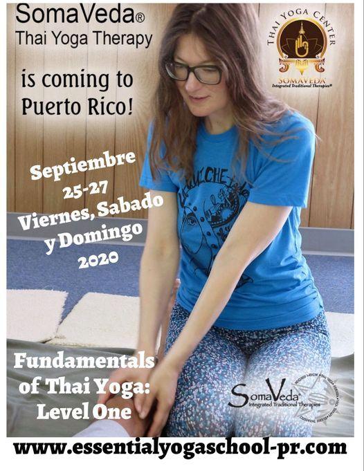 Fundamentals of Thai Yoga Level One